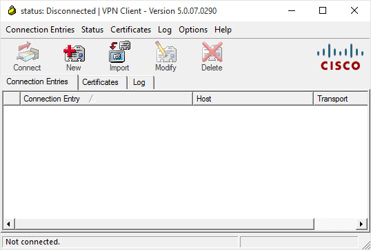 Cisco VPN Error 27850